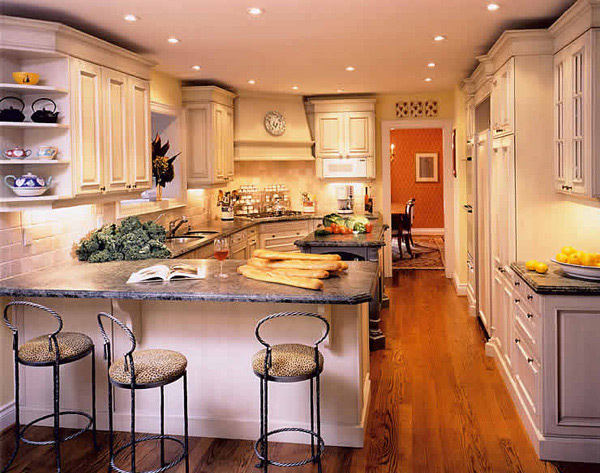 Tips For Kitchen Color Ideas: 15 Lovely And Warm Country Styled Kitchen Ideas