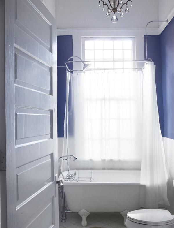 Flynn Blue Bath