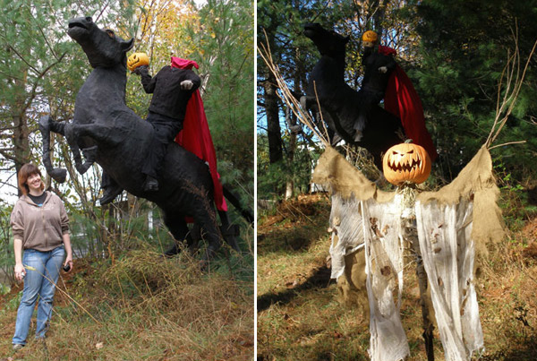 The Headless Horseman and Scarecrow