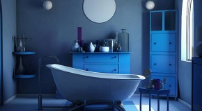 18 Cool and Charming Blue Bathroom Designs
