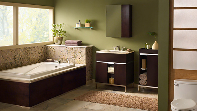 18 relaxing and fresh green bathroom designs home design lover