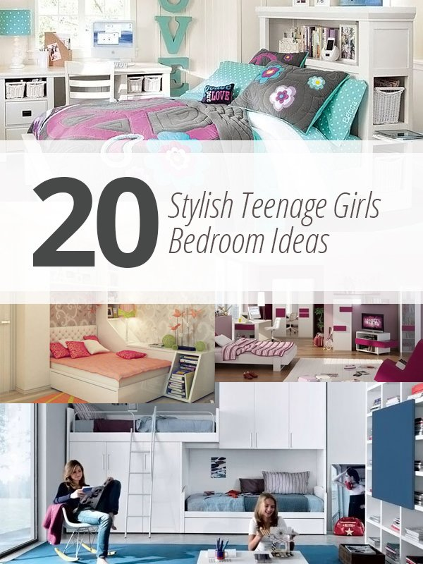stylish teenage bedroom girls
