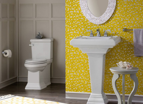 Bathroom Ideas Yellow 15 charming yellow bathroom design ideas | home design lover