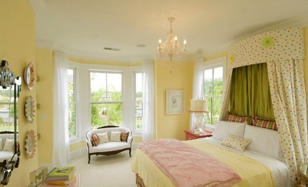 15 zesty yellow bedroom designs home design lover for Bedroom yellow paint