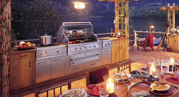 Montana Outdoor Kitchen