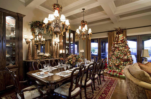 Christmas living room designs