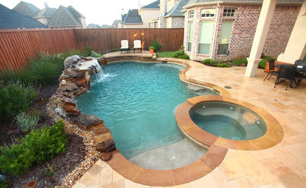 15 remarkable free form pool designs home design lover for 3d pool design online free