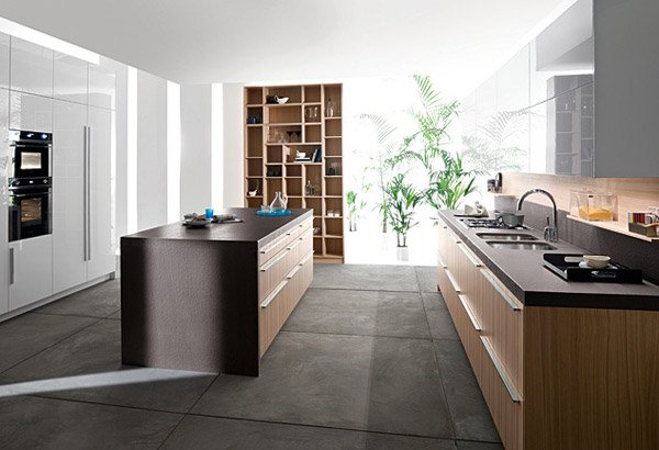 15 simple and minimalist kitchen space designs home for Kitchen design codes