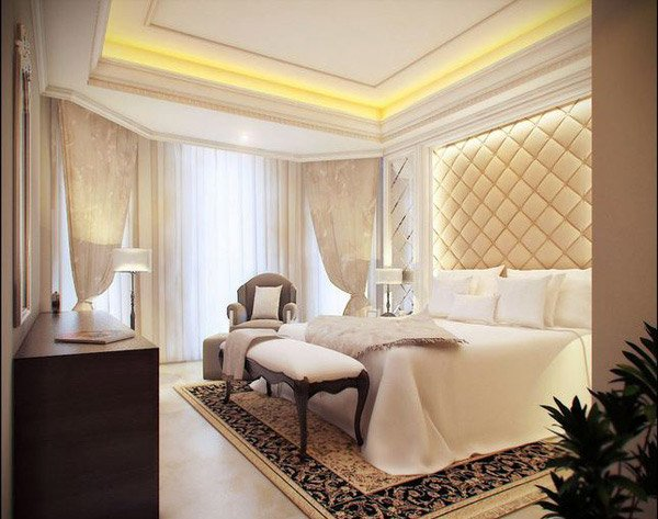 Feel the grandeur of 20 classic bedroom designs home for Classic design style