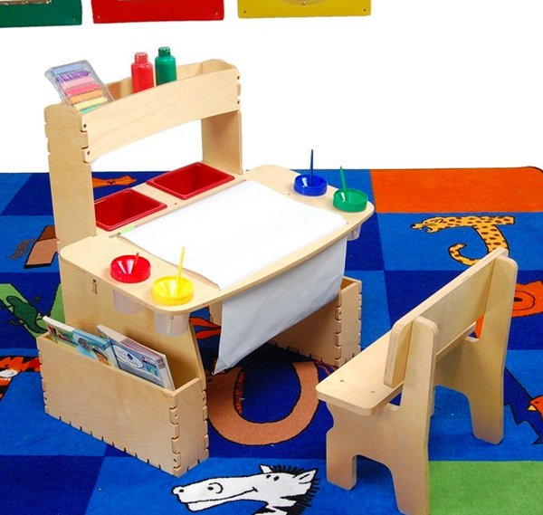 Home Decorating Pictures Children Desks 15 Kids Art Tables and Desks for Little Picassos | Home Design Lover