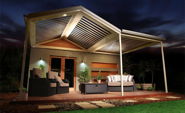 15 designs of pergolas to shade seating areas home design lover. Black Bedroom Furniture Sets. Home Design Ideas