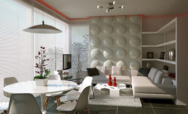 Contemporary Feature Wall Treatment