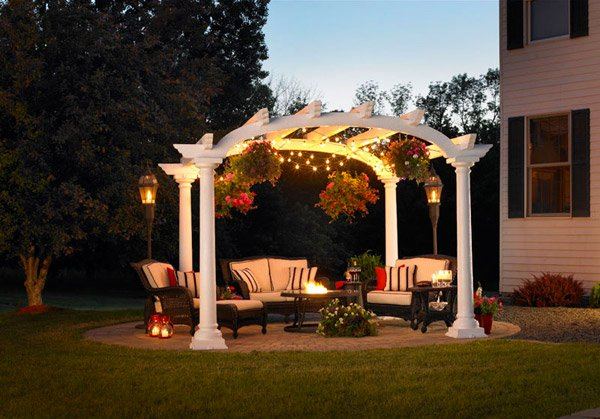 15 Designs Of Pergolas To Shade Seating Areas Home