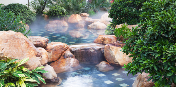 Type of water feature
