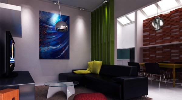 zen-inspired living rooms