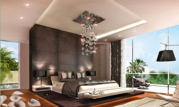 Modern Romantic Master Bedroom 16 sensual and romantic bedroom designs | home design lover