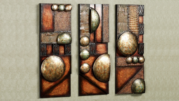 Contemporary Abstract Metal Wall Art Sculptures Home Design Lover