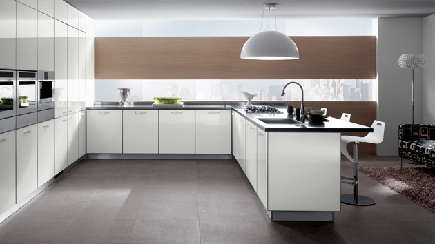 15 simple and minimalist kitchen space designs home design lover - Minimal kitchen design ...