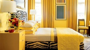 15 Zesty Yellow Bedroom Designs