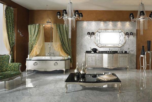 Classic Romantic Bath