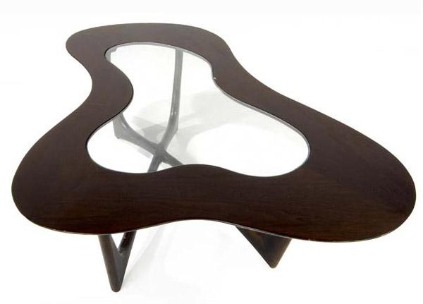 Amoeba-shaped Table