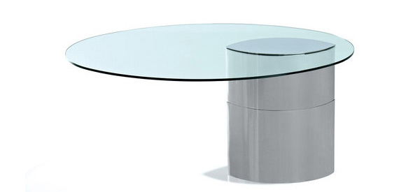 15 Gorgeous Oval Dining Table Designs Home Design Lover : 13 boeri from homedesignlover.com size 600 x 307 jpeg 18kB