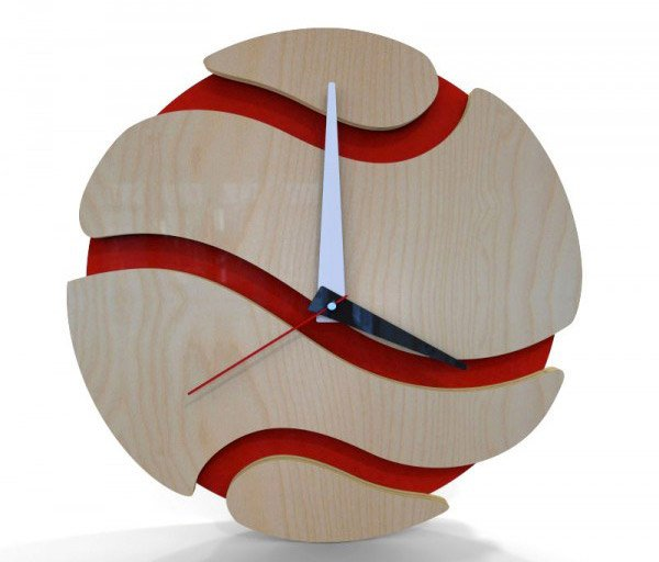 Sun Wall Clock Sunset