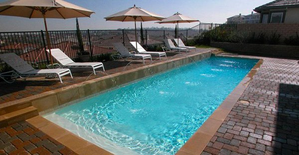 Get to know the 10 different shapes of swimming pools home design lover - Rectangle pool designs ...
