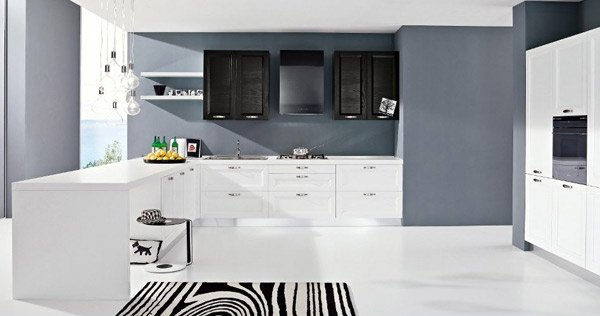 17 White And Simple High Gloss Kitchen Designs Home Design Lover