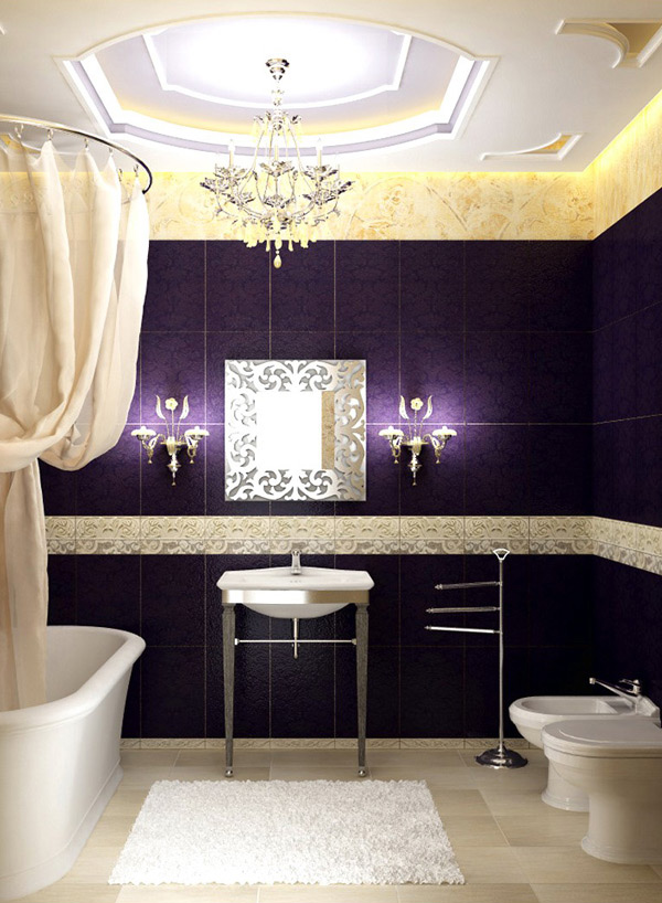15 ultimate luxurious romantic bathroom designs home for Ultimate bathrooms