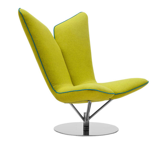 Angel Modern Lounge Chair  Email  Save Photo  angel wings15 Comfy Modern Lounge Chairs   Home Design Lover. Modern Yellow Lounge Chair. Home Design Ideas