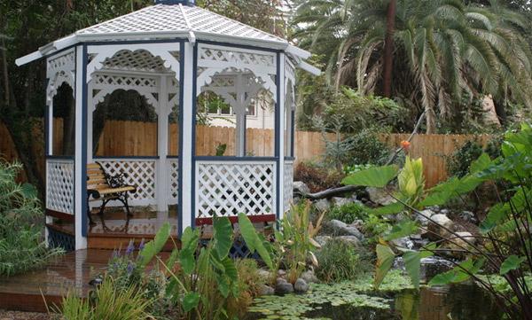 Water Garden Gazebo