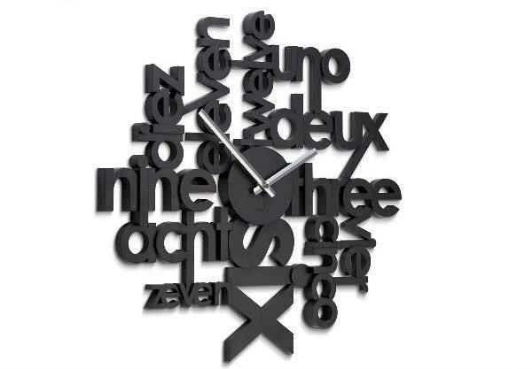 15 modern wall clock designs good for wall decor home. Black Bedroom Furniture Sets. Home Design Ideas