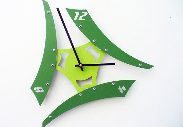 Sweep V Modern Wall Clock