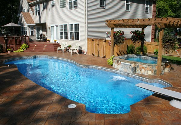 Pool Designs With Spa 15 fabulous swimming pool with spa designs | home design lover