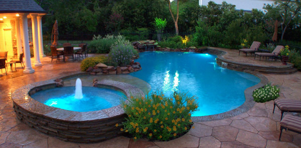 Visio Swimming Pool Design : How to choose pool design and shape home lover