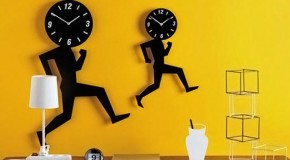 15 Amazingly Creative and Unique Wall Clock Designs