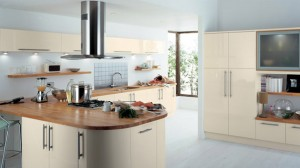 earth glossy kitchen