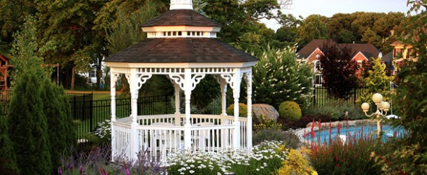 Gaze at Nature's Beauty Thru These 15 Gazebo Designs