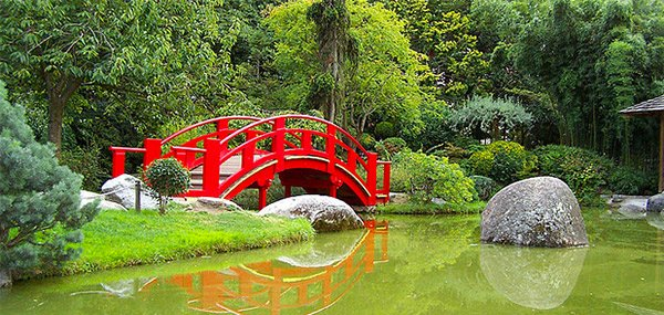 japanese garden bridges