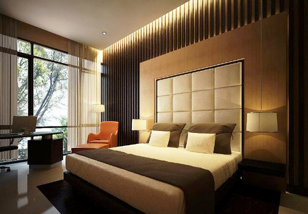 15 bedroom designs with earth colors home design lover Earth tone bedroom