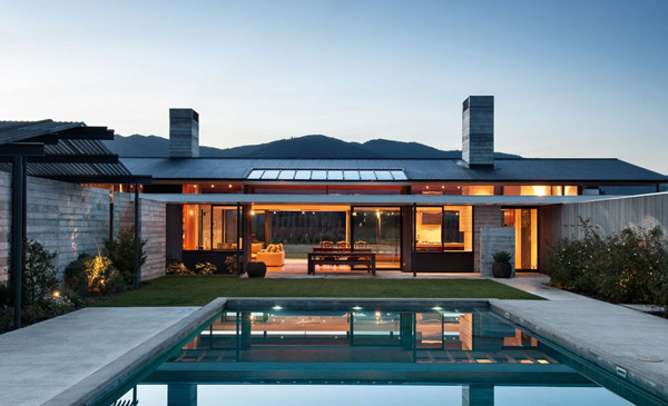 Wairau Valley House Pool 1