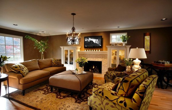 20 stunning earth toned living room designs home design Earth tone living room decorating ideas