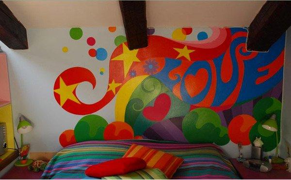 15 funky retro bedroom designs funky bedroom design - Funky Bedroom Design