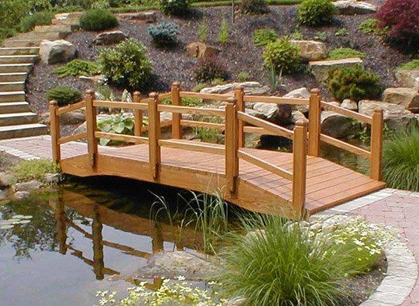 wooden bridge designs