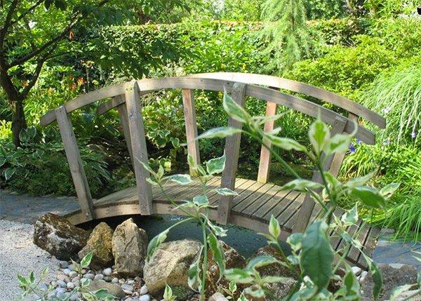 Japanese Garden Bridge Design top 25+ best { garden wood bridge designs }| japanese garden