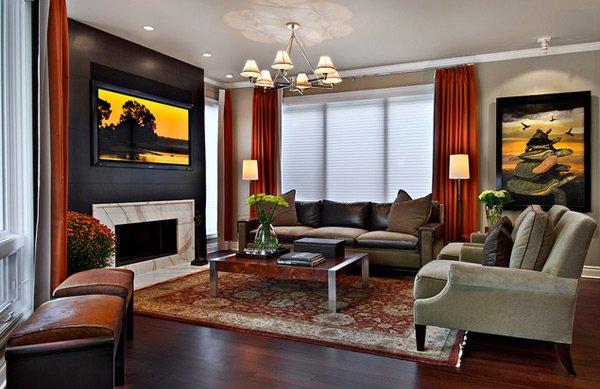 20 Stunning Earth Toned Living Room Designs Home Design Lover