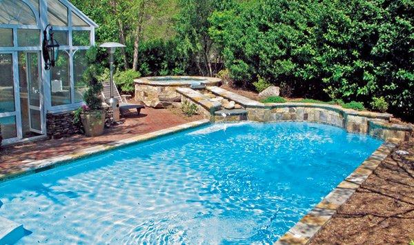 Roman Grecian Pool 4