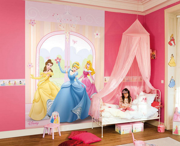 15 pretty and enchanting girls themed bedroom designs