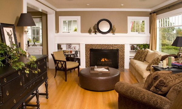 20 Stunning Earth Toned Living Room Designs Home Design Lover